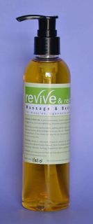 Revive and Restore Massage and Body Oil  250mls