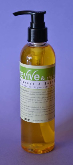 Revive & Restore Massage and Body Oil 125ml